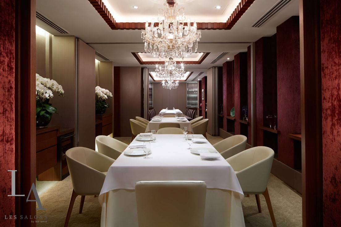 les amis is one of the most Romantic Restaurants in Singapore