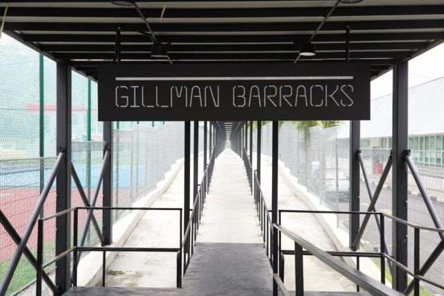 gillman barracks entrance