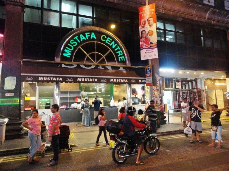 Outside Mustafa Centre