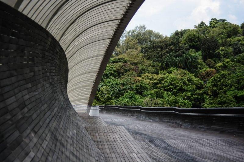 Bridge along Mount Faber