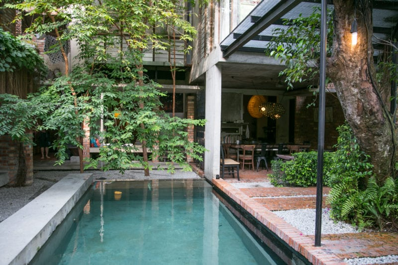 the sekeping serendah swimming pool is the perfect luxury getaway in malaysia