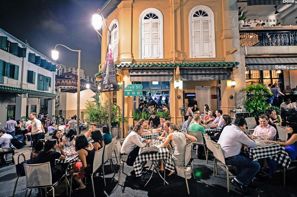 hangout places in Singapore