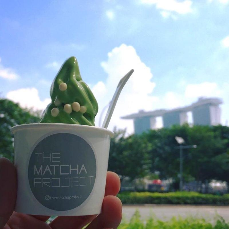 Matcha Soft Serve - The Matcha Project dessert
