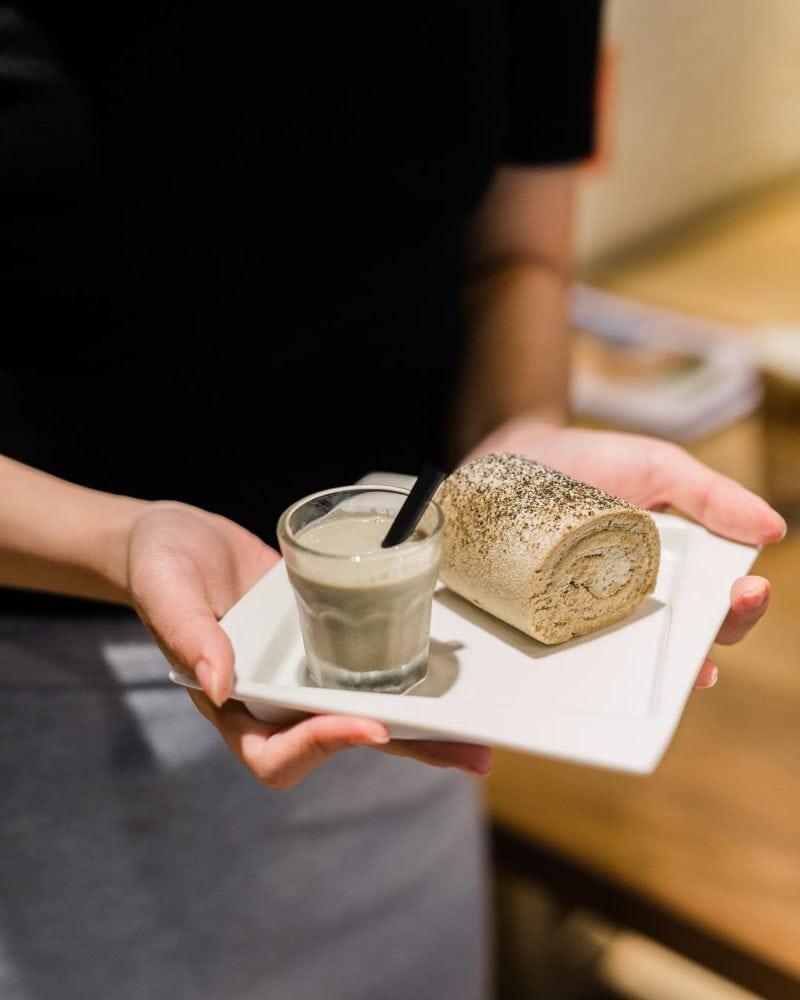 Swiss Roll -To-Gather Cafe dessert
