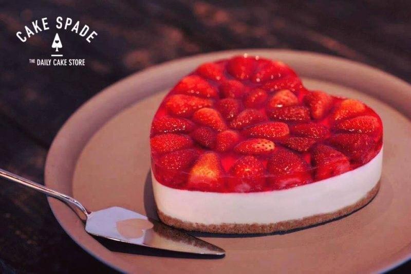Cheesecake - Cake Spade dessert