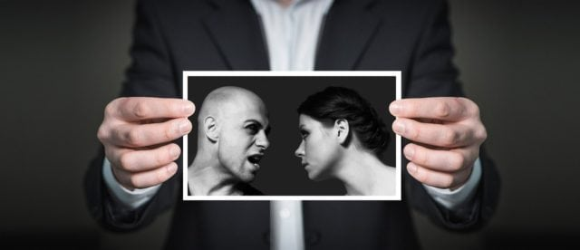 couple arguing over relationship marriage counselling in singapore