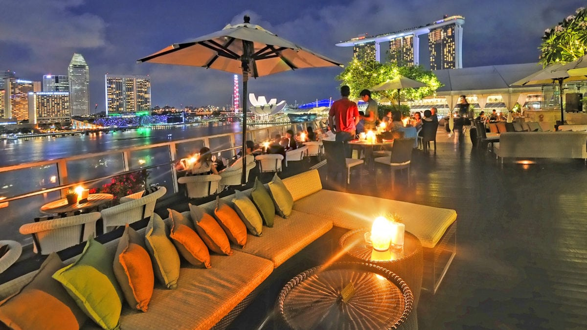 15 Rooftop Bars in Singapore Perfect for Chilling Out
