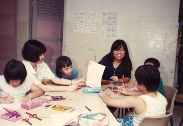 Singapore Children's Society to help a group of children in need