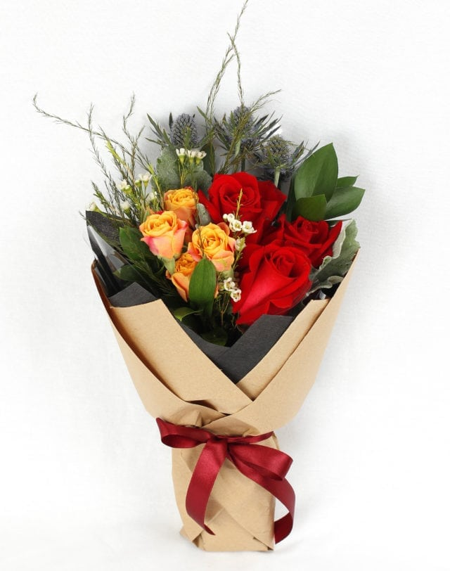 Freestyle flower bouquet by Flower Garage Singapore
