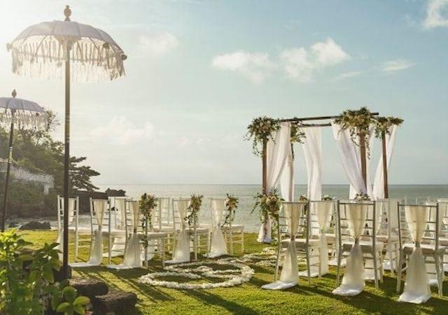 wedding venue in bali four seasons