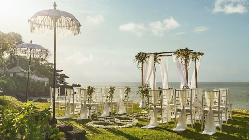 wedding venue in bali four seasons