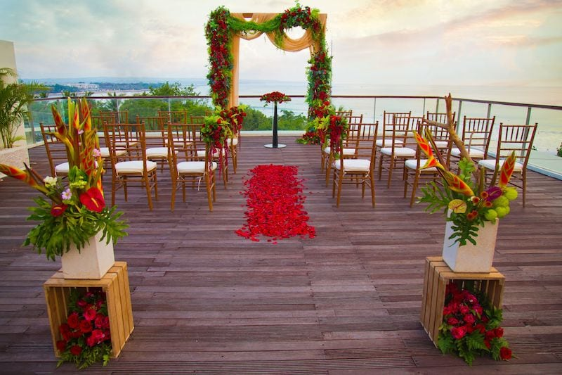 wedding venue in bali sheraton