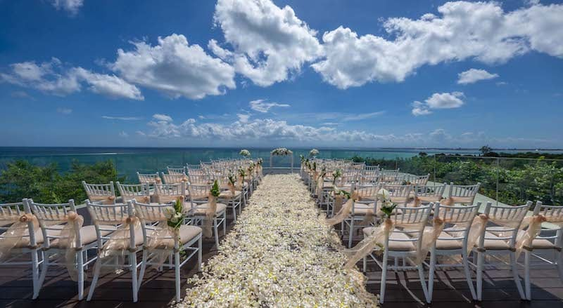 wedding venue in bali ayana resort spa