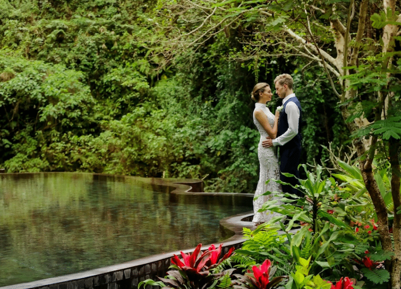 wedding venue in bali nature