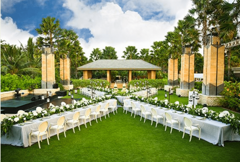 wedding venue in bali the mulia