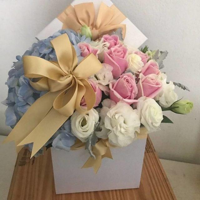 Center piece bouquet by Little Flower Hut