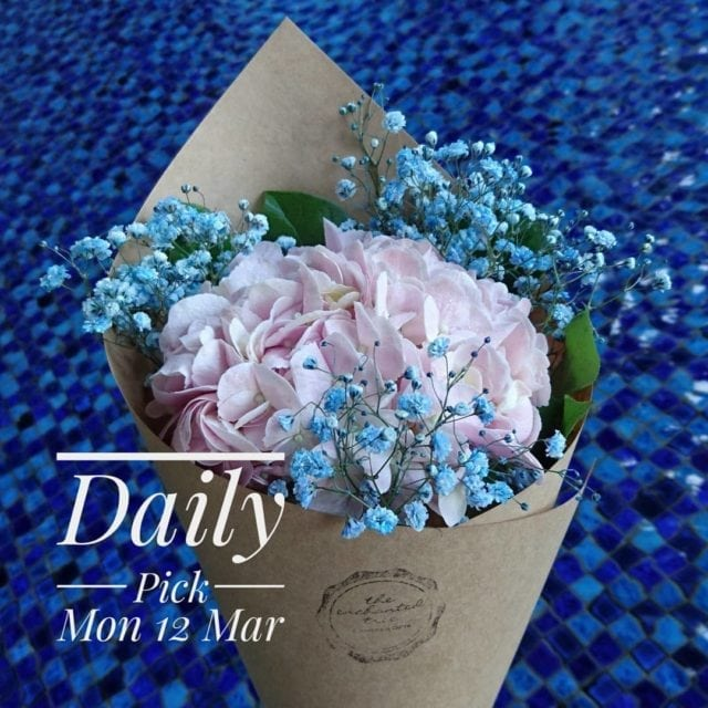 Daily pick bouquet by The Enchanted Tree