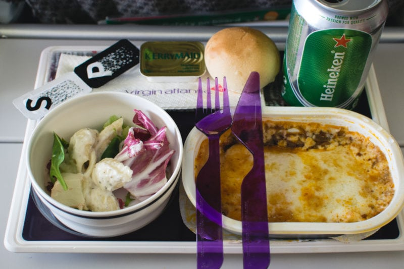 Check your in flight meal options and pack your own snacks.