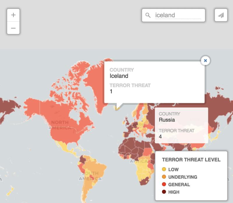 terrorist threat worldwide