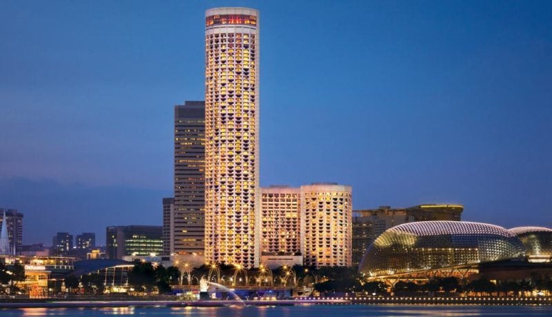 Tallest hotels to visit around the world by for Tallest hotel in singapore