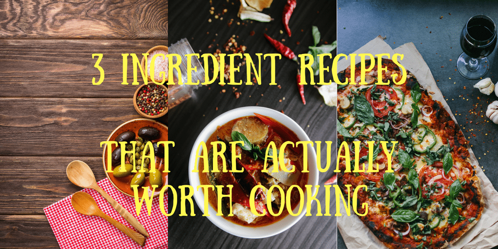 Dishes You Never Knew Could Be Made With Just 3 Ingredients + CSO Cook-Off