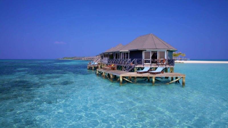 Kuredu Island Resort Maldives water villa