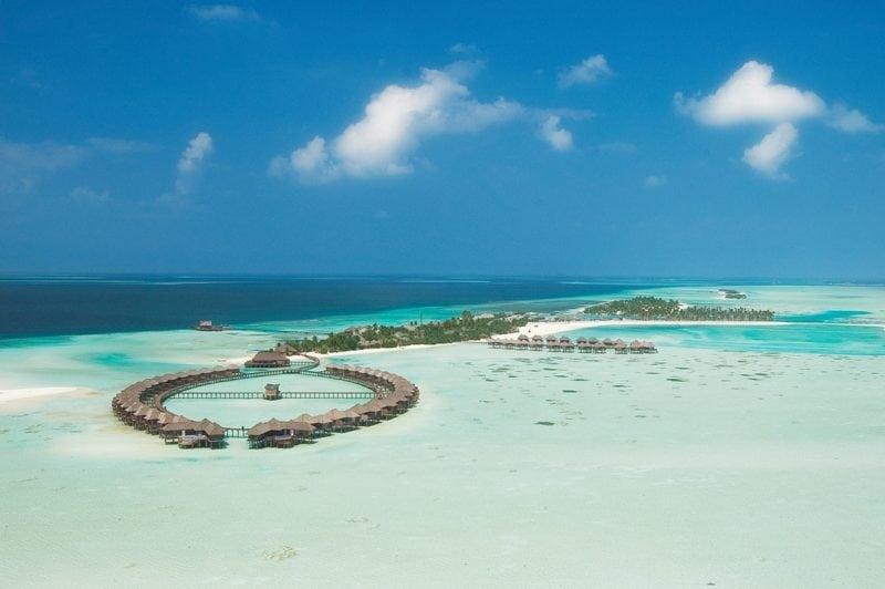 Olhuveli Beach Spa Maldives water villa