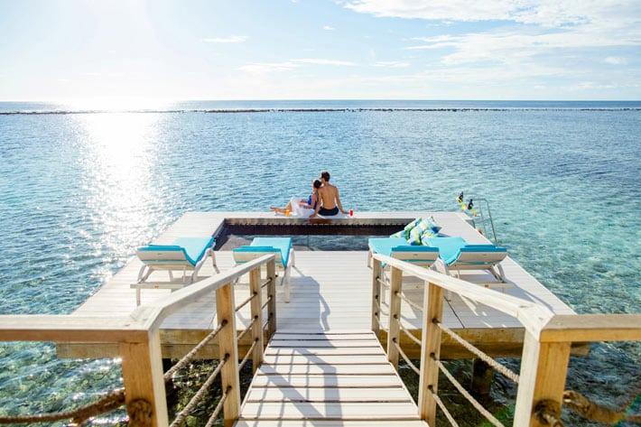 Holiday Inn Kandooma Maldives water villa