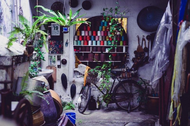 hidden cafe corner in Malacca