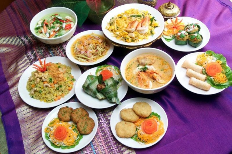 Jai Thai dishes of Thai food in Singapore