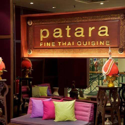 Patara Fine Thai cuisine in Singapore
