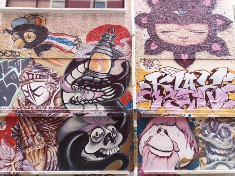 Street art near Singapore Art Museum
