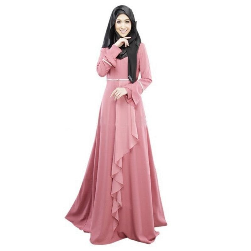 Long flowing muslimah dress