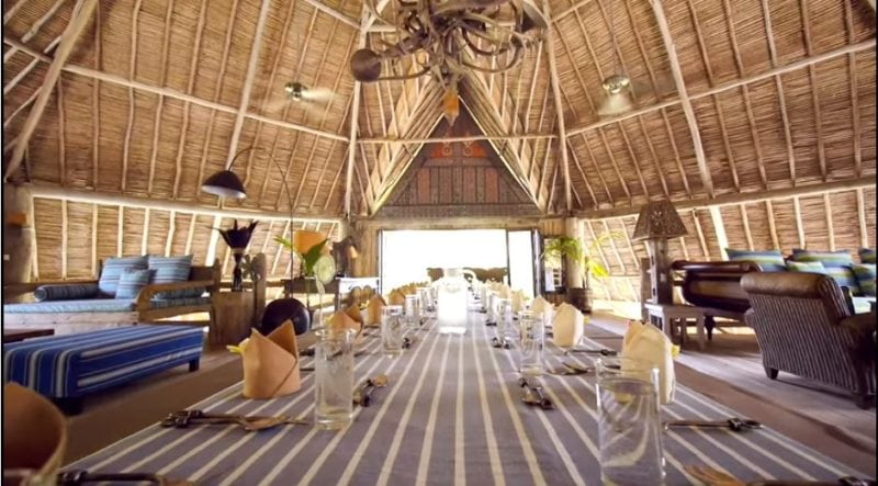 Beach Palace at Pulau Joyo
