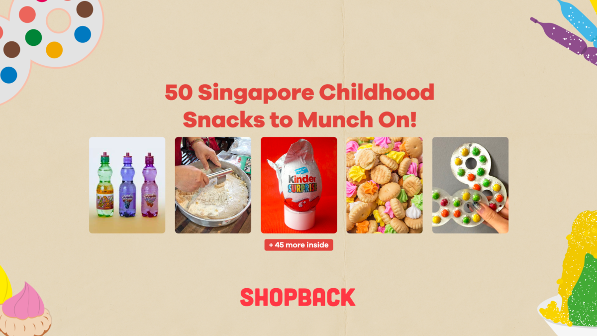 50 Local Singapore Childhood Snacks to Munch On!