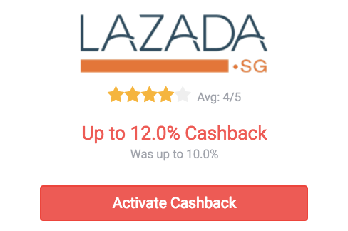 lazada upsized discount on shopback