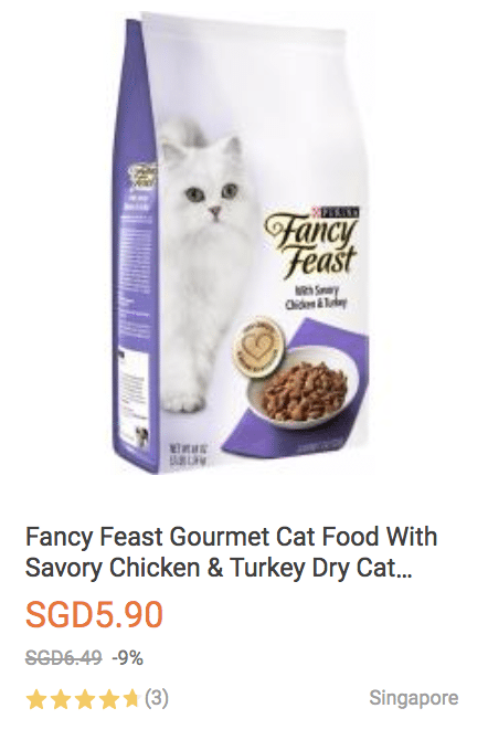 cat food lazada promo