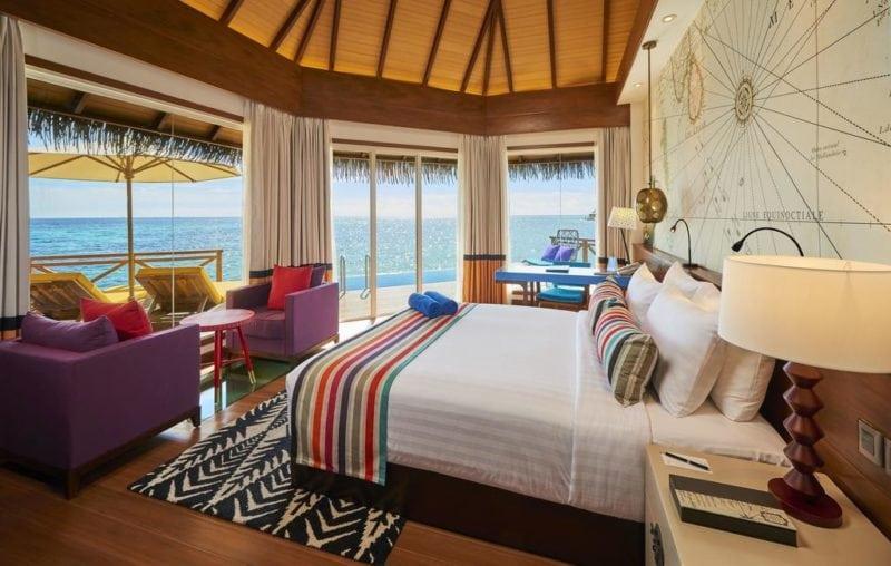 Mercure Maldives Kooddoo Resort water villa