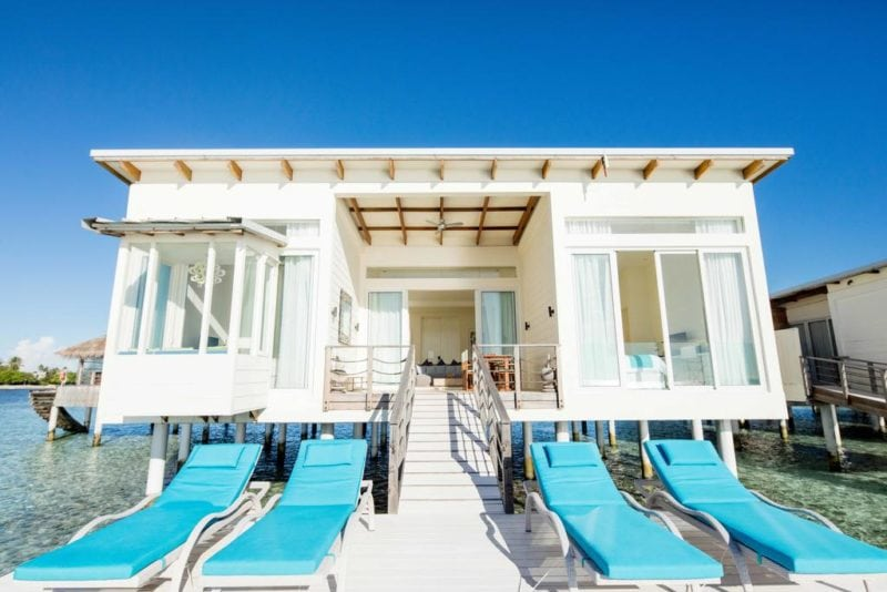 Holiday Inn Resort Kandooma Maldives water villa