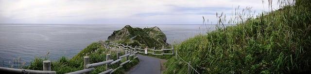 Misaki Point on the Shakotan Peninsula, Hokkaido, Japan