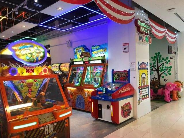 OmOcha World arcade in Singapore