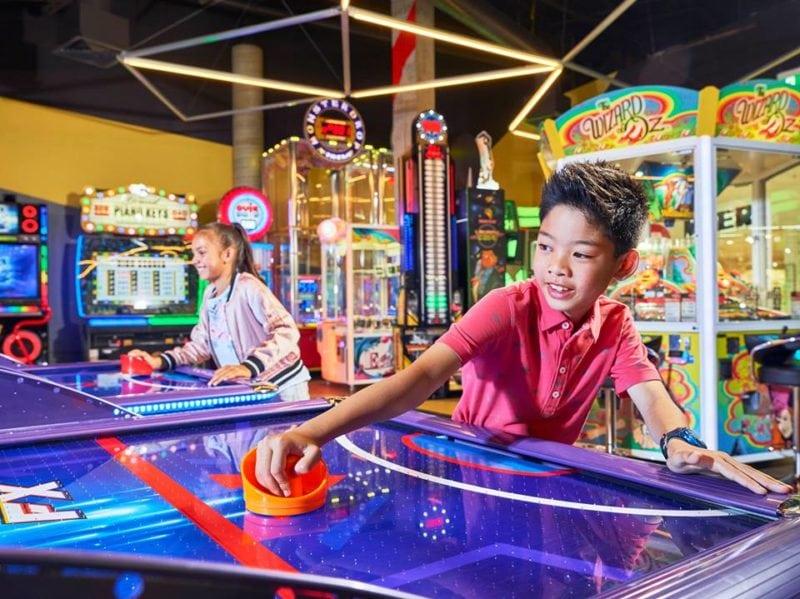 Timezone arcade Singapore