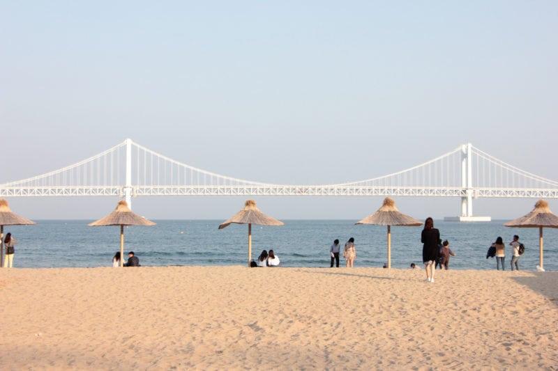 Gwangalli Beach Busan