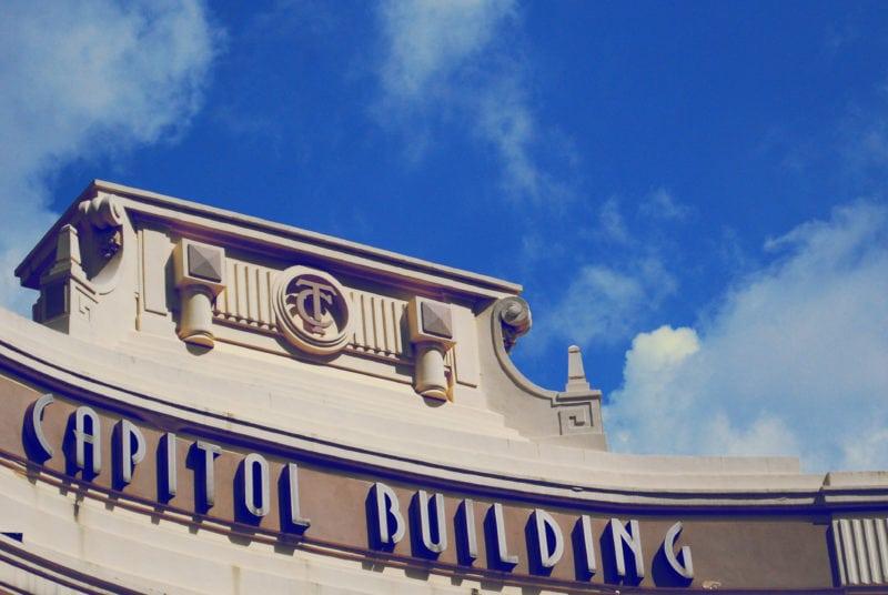 Facade of Capitol Building