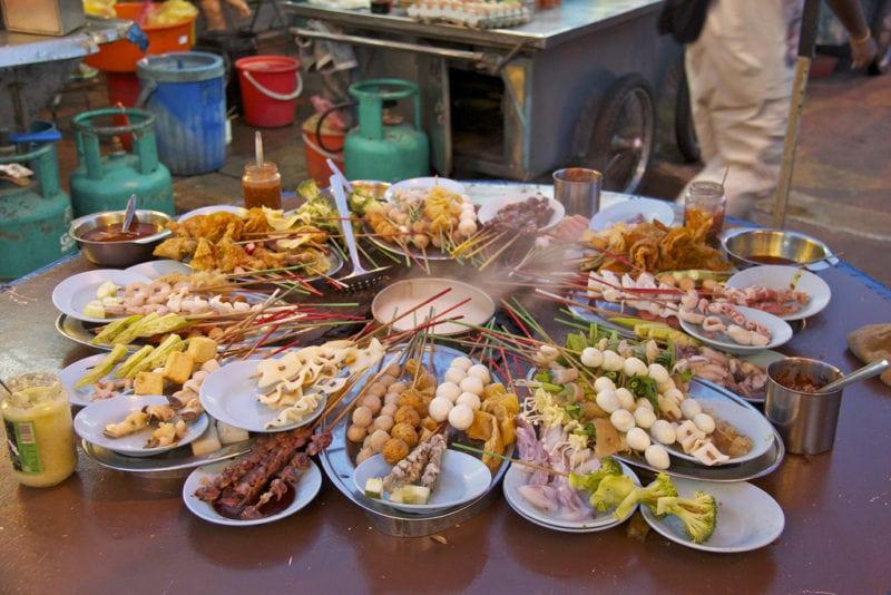 Lok Lok atPulau Tikus Market