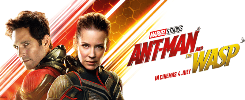 Marvel Studios' Ant-Man and the Wasp movie banner