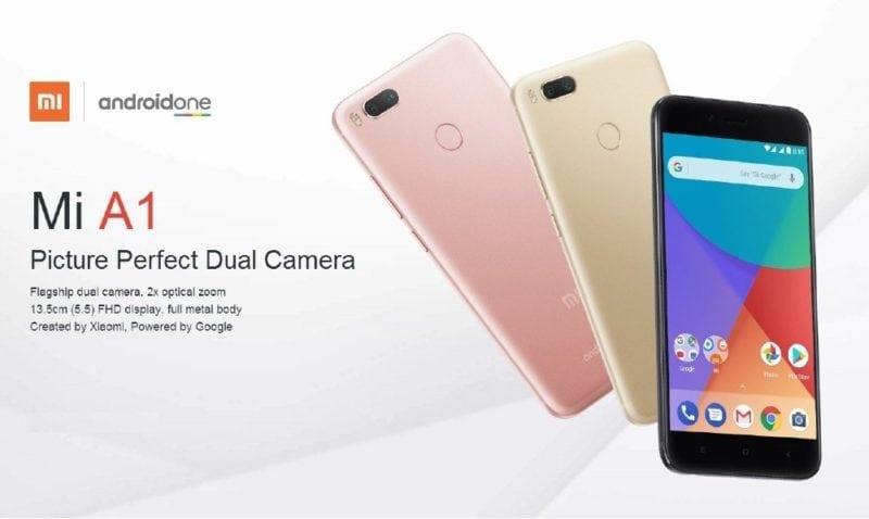 Xiaomi Mi A1 Smartphone Singapore