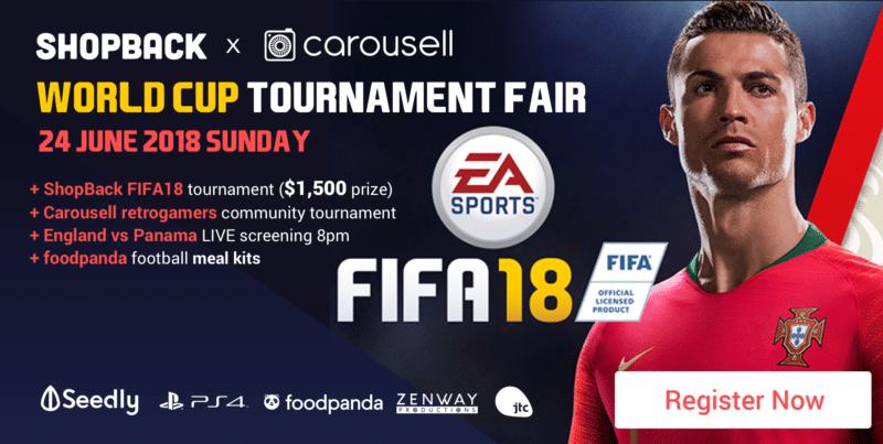 ShopBack Fifa 18 Event
