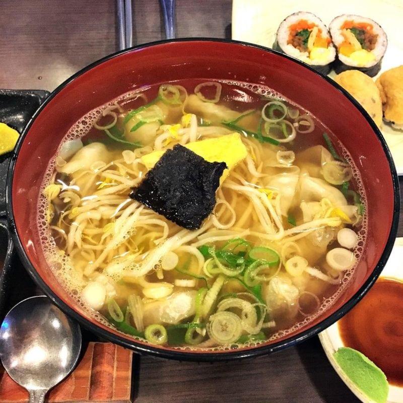 wandong dumplings Busan South Korea
