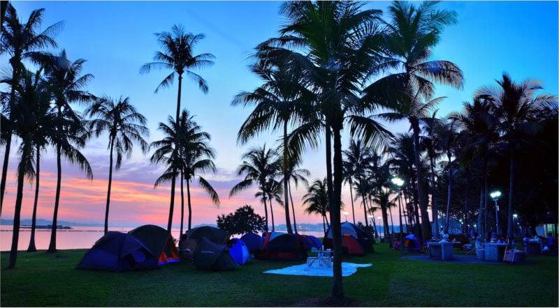 Singapore camping